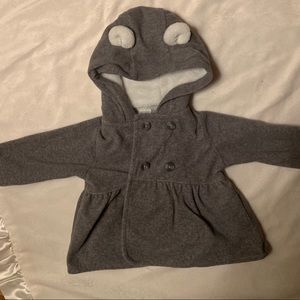 Carter Infant Peacoat with Ears